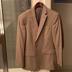 Men's tan Kenneth Cole blazer